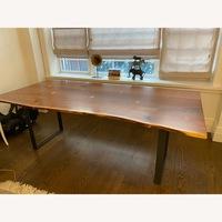 Room Board 84 Chiltern Live Edge Dining Table In Walnut Aptdeco