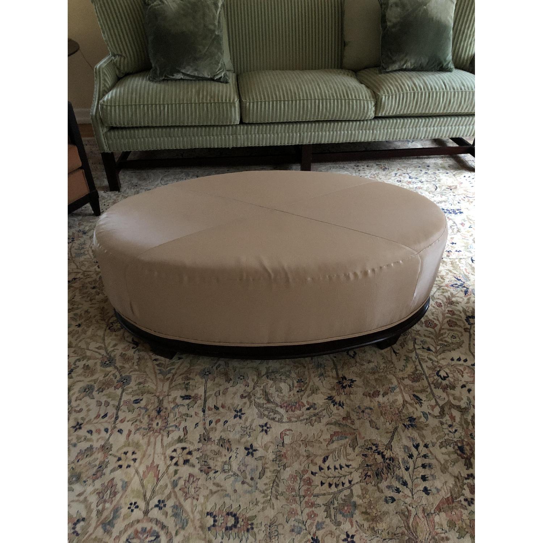 Beautiful Oval Ottoman Coffee Table Aptdeco