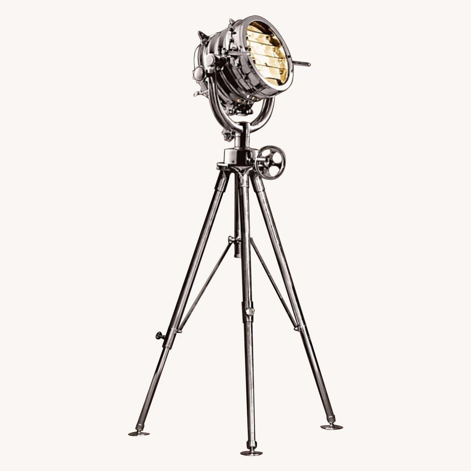 Restoration Hardware Tripod Floor Lamp
