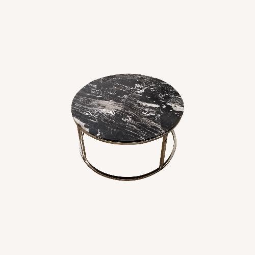 Used Marble coffee table for sale on AptDeco