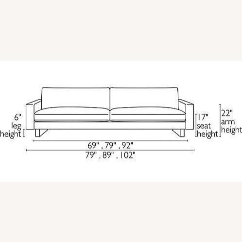 "ROOM & BOARD - Hess Sofa 79"" in Charcoal - image-7"