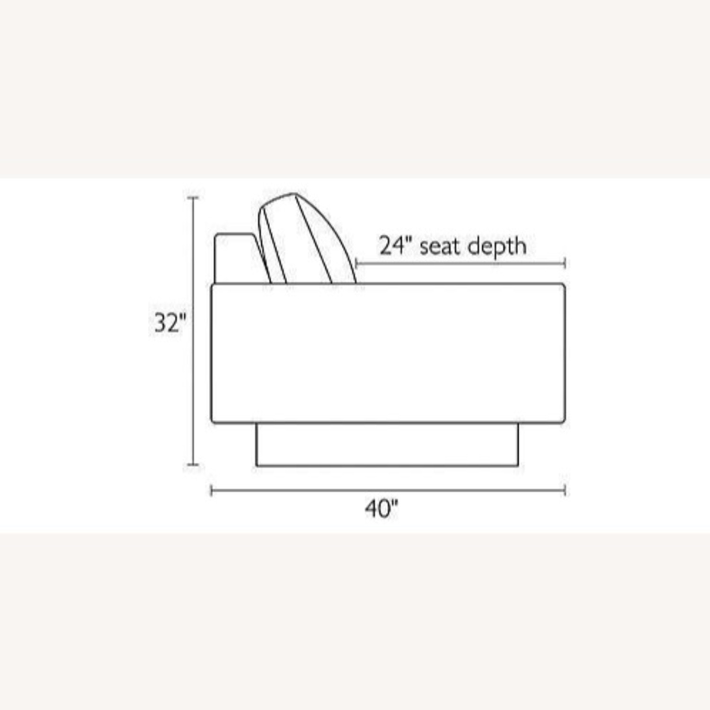 "ROOM & BOARD - Hess Sofa 79"" in Charcoal - image-6"