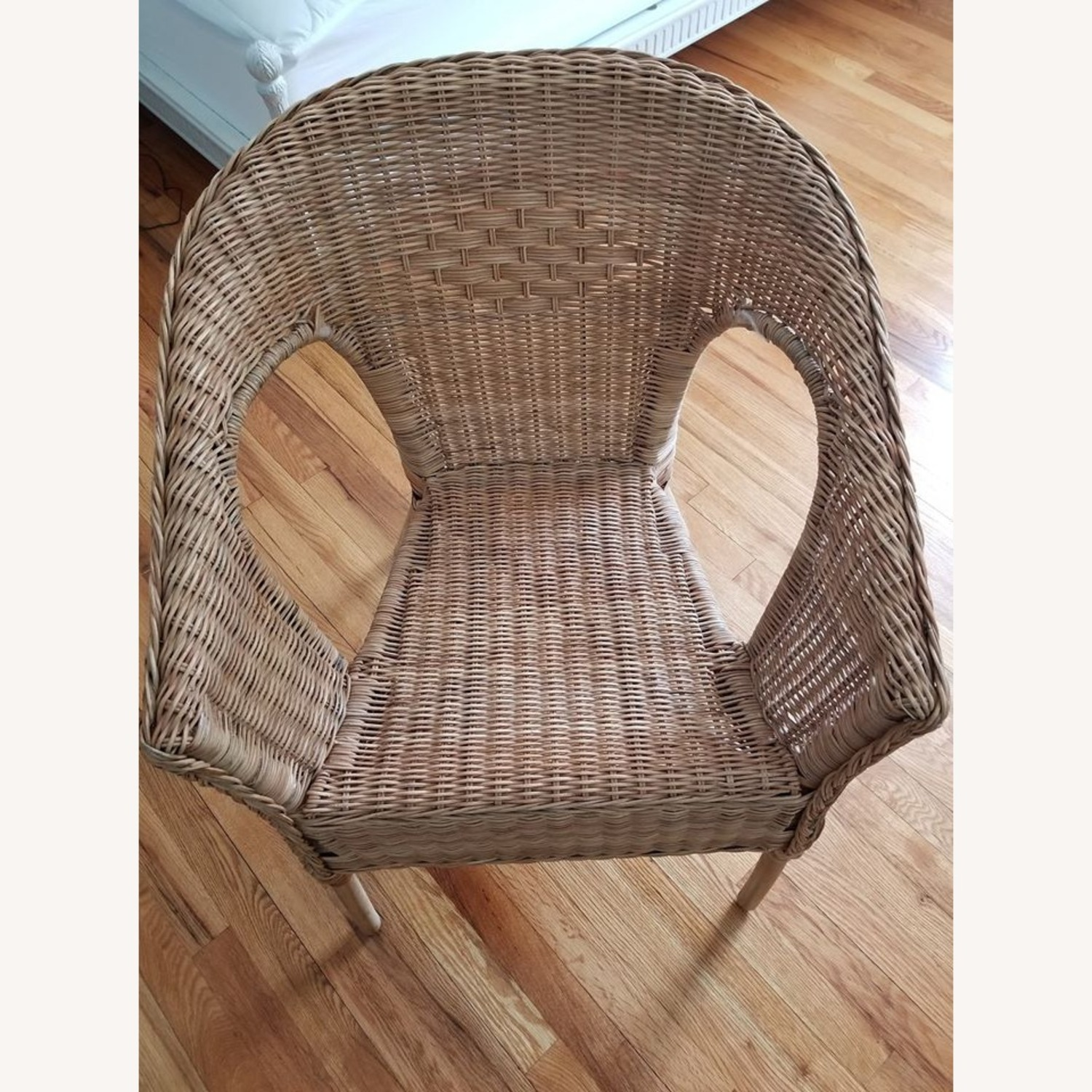 IKEA Rattan / Bamboo Accent Chair - image-2
