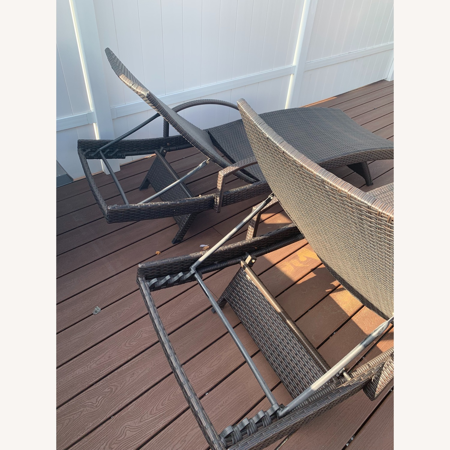Rebello Outdoor Reclining Chaise Loungers - image-5