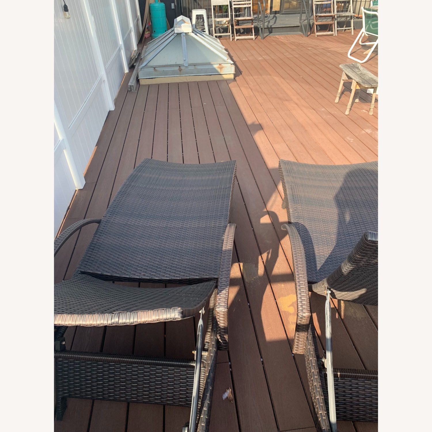 Rebello Outdoor Reclining Chaise Loungers - image-4