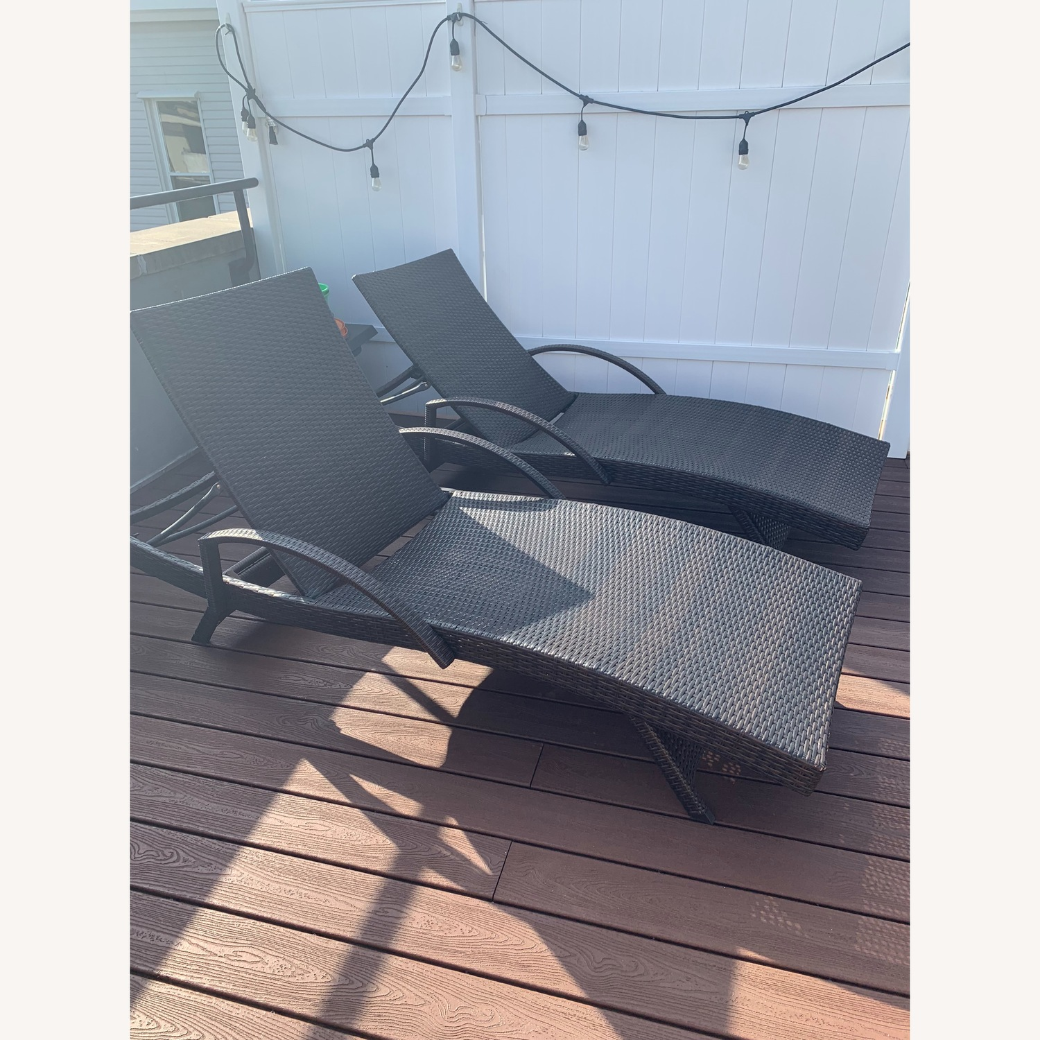 Rebello Outdoor Reclining Chaise Loungers - image-2