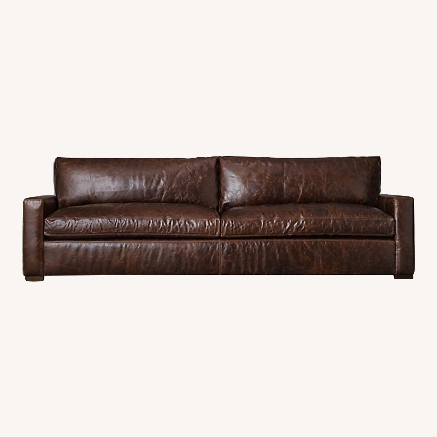 RH Maxwell Leather Sofa