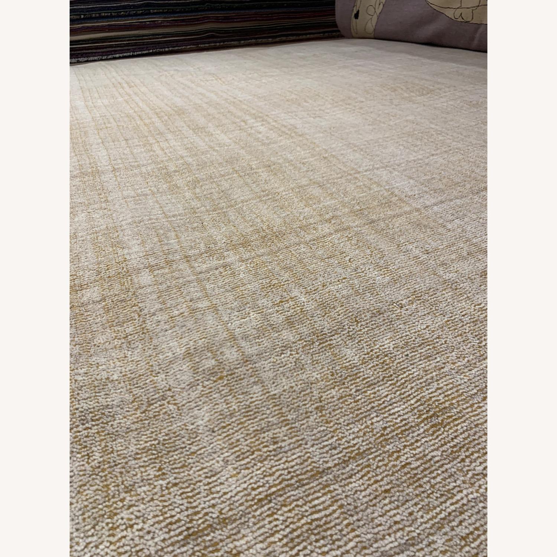 ABC Carpet Indian Gold Wool Carpet - image-2