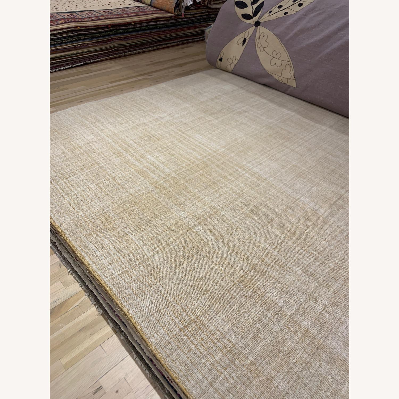 ABC Carpet Indian Gold Wool Carpet - image-1