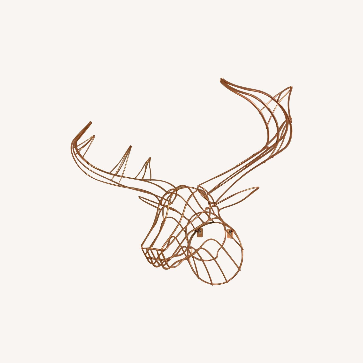 CB2 Decorative Wall Moose
