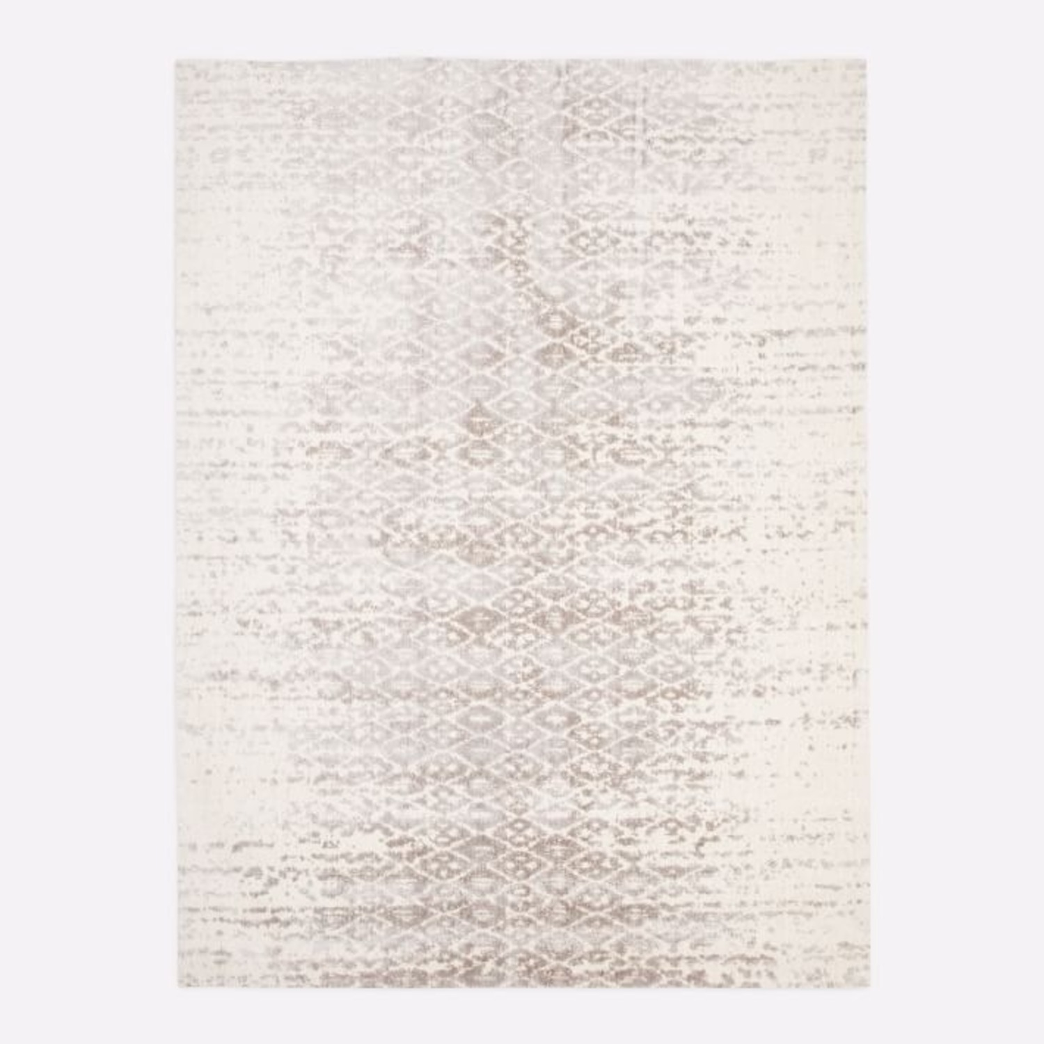 West Elm Foil Diamonds Rug - image-1