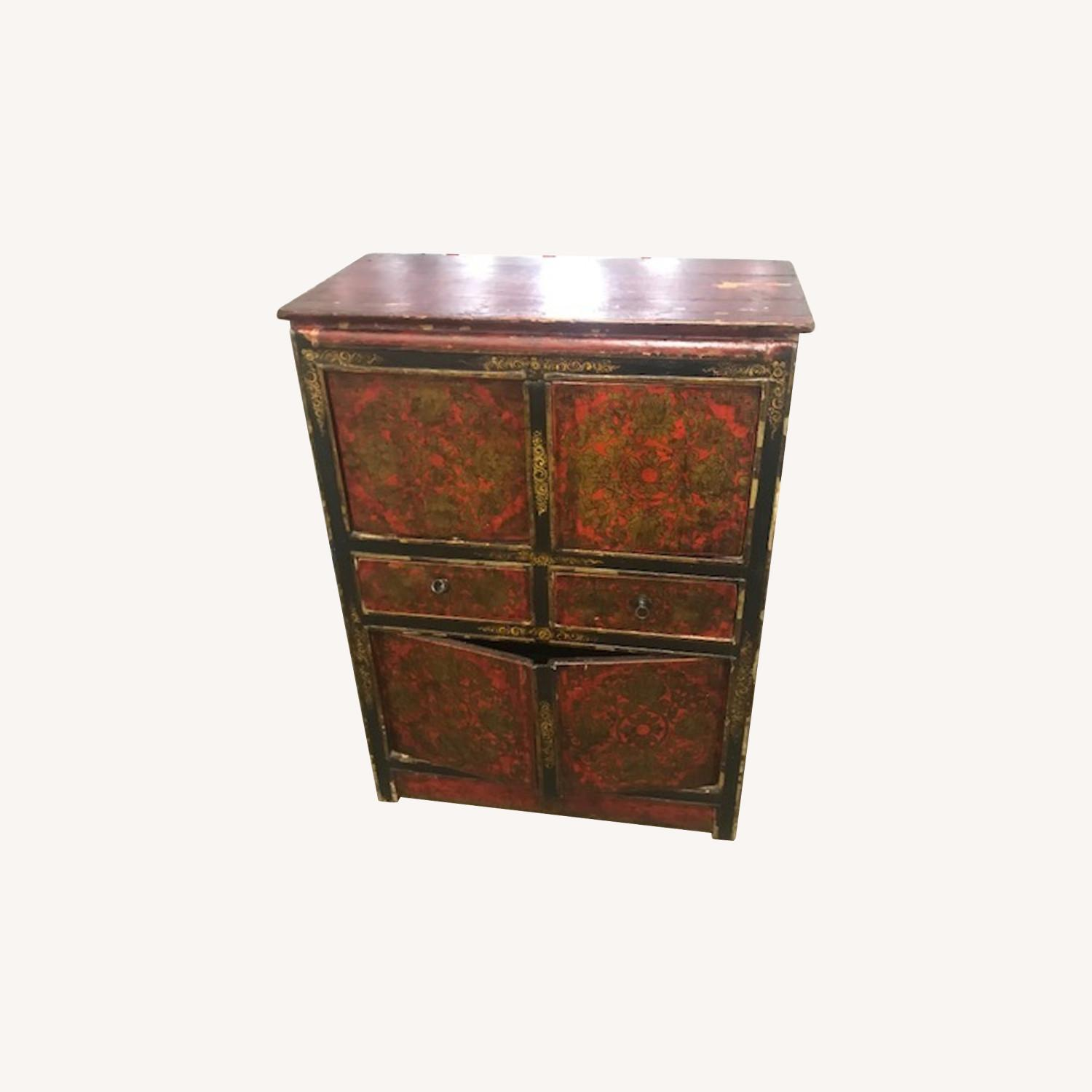 Antique Chinese Sideboard Buffet - image-0