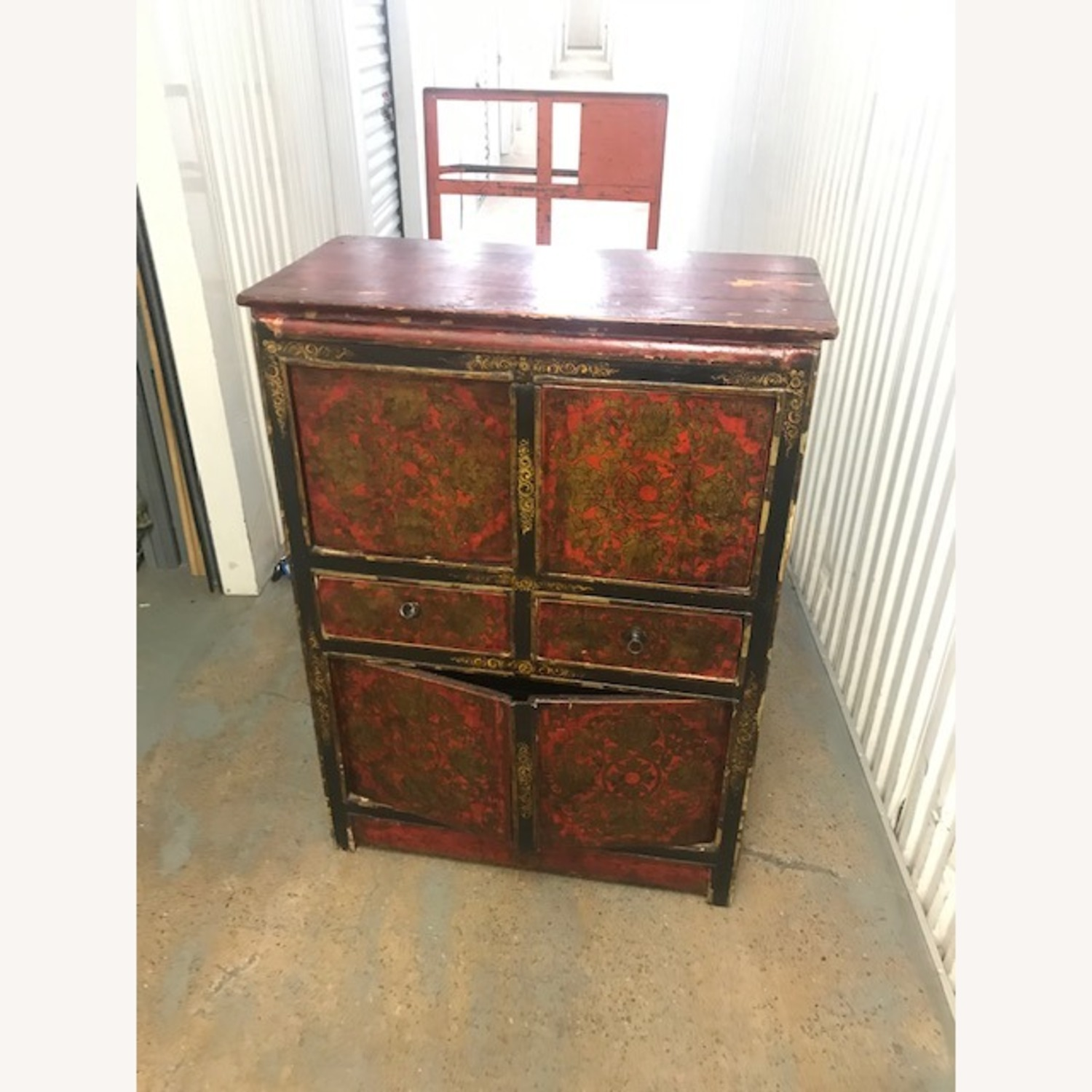 Antique Chinese Sideboard Buffet - image-1