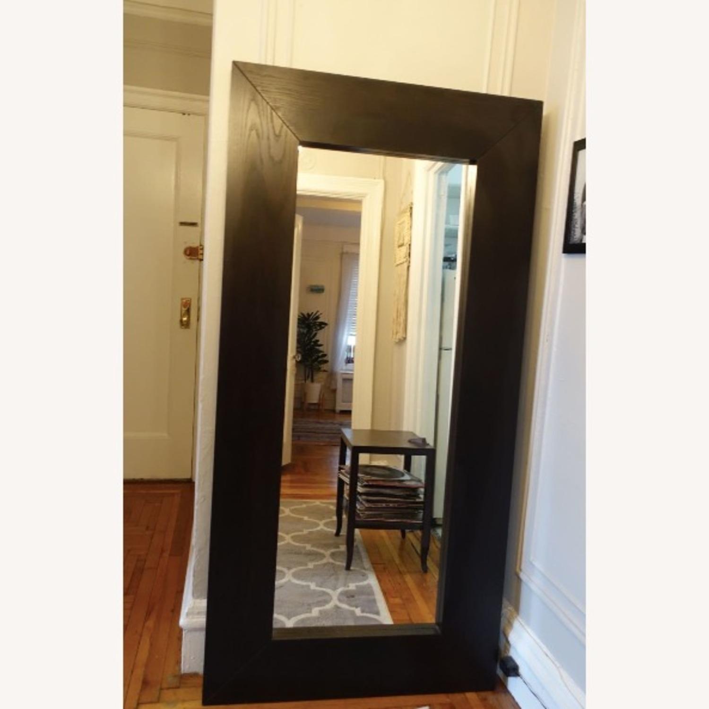 Dark Wood Mirror