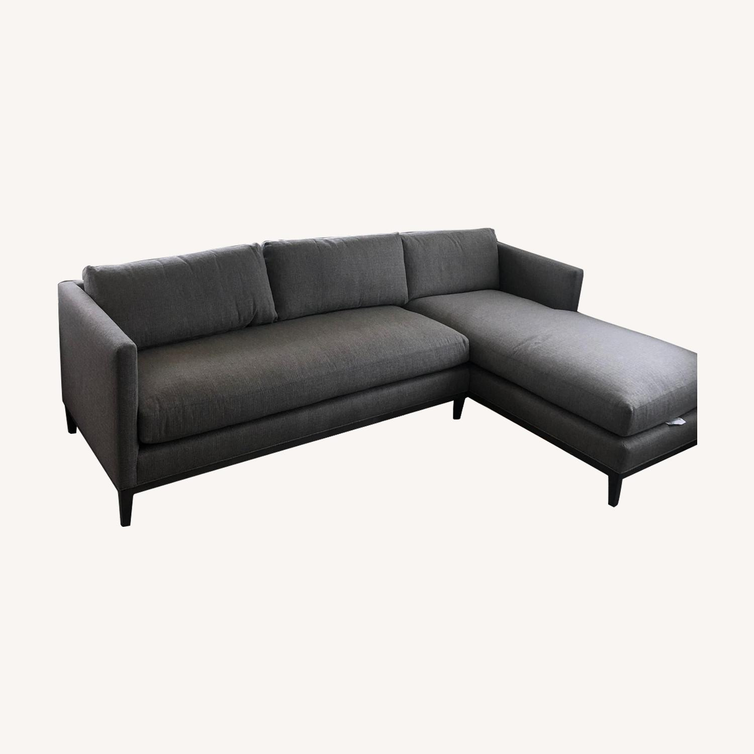 Safavieh Mid Century Modern Sectional w/Chaise - image-0