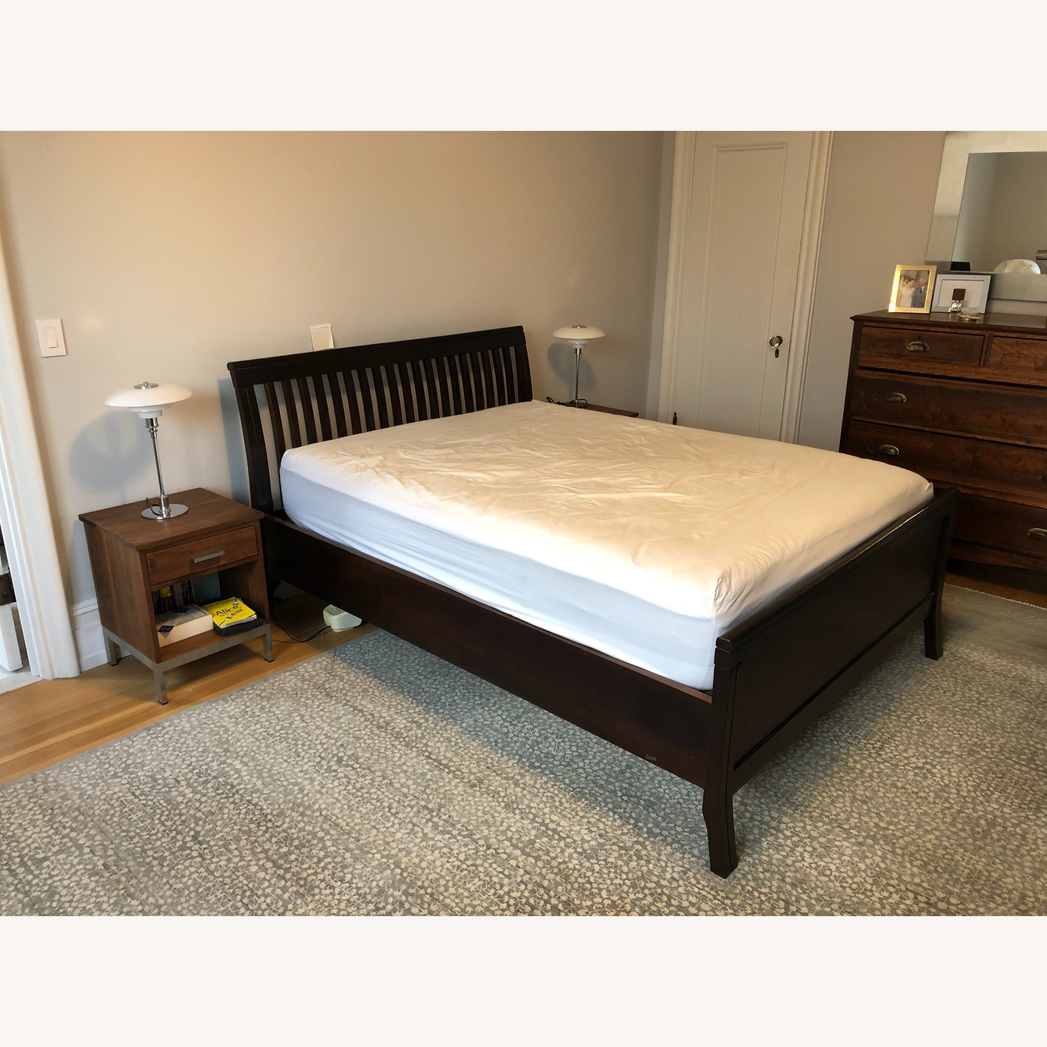 Brazilian Walnut Queen Bed