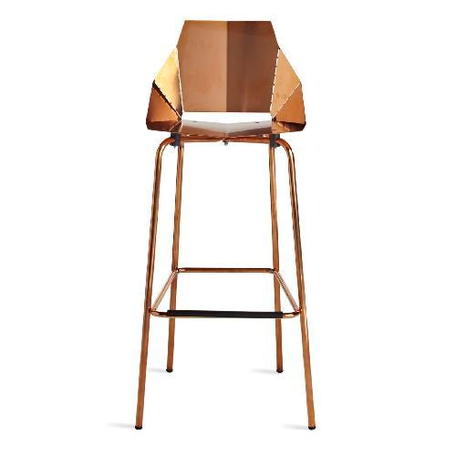 Used Blu Dot RealGood Copper Barstools for sale on AptDeco