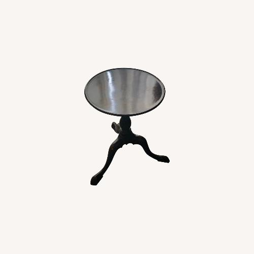 Used Dark Oak Antique Side Table for sale on AptDeco