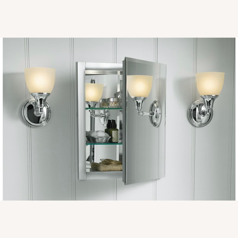 Kohler Recessed Frameless Medicine Cabinet w/ 2 shelves