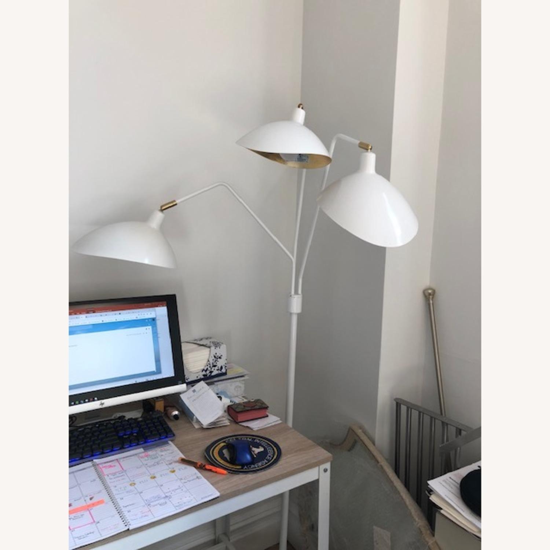 Iris H Floor Lamp - Safavieh