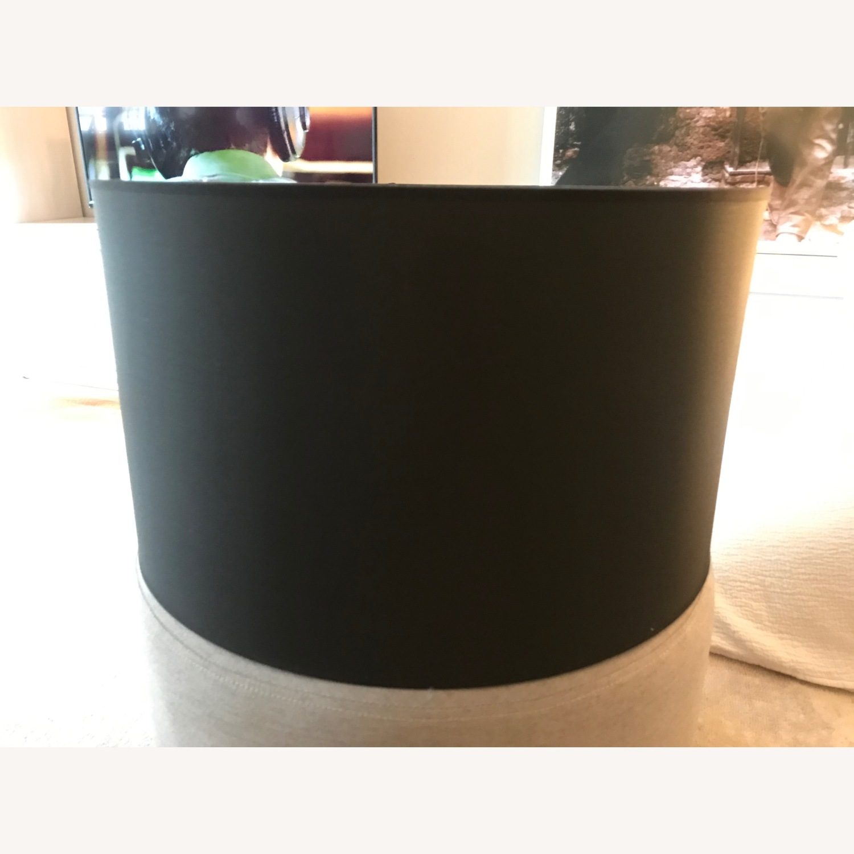 Rivet Black Lamp Shade
