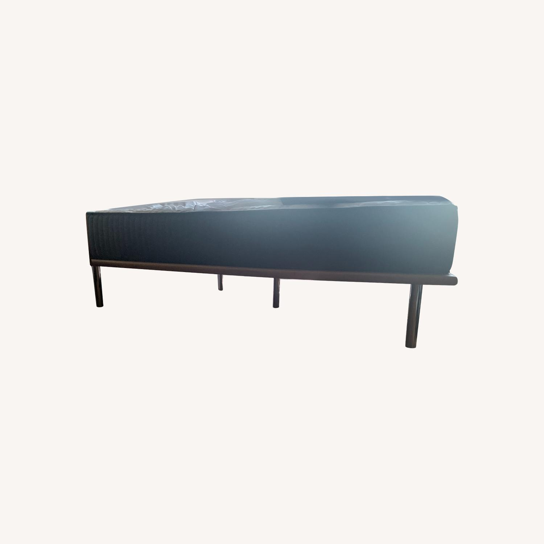 CB2 Queen Wood Platform Bed