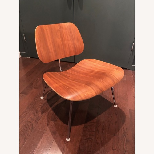 Used Eames Molded Plywood Lounge Chair with Metal Base for sale on AptDeco