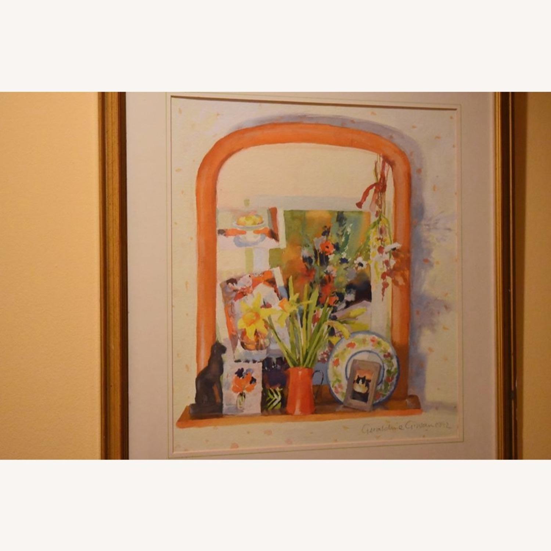 Geraldine Girvan Original Watercolor - image-1