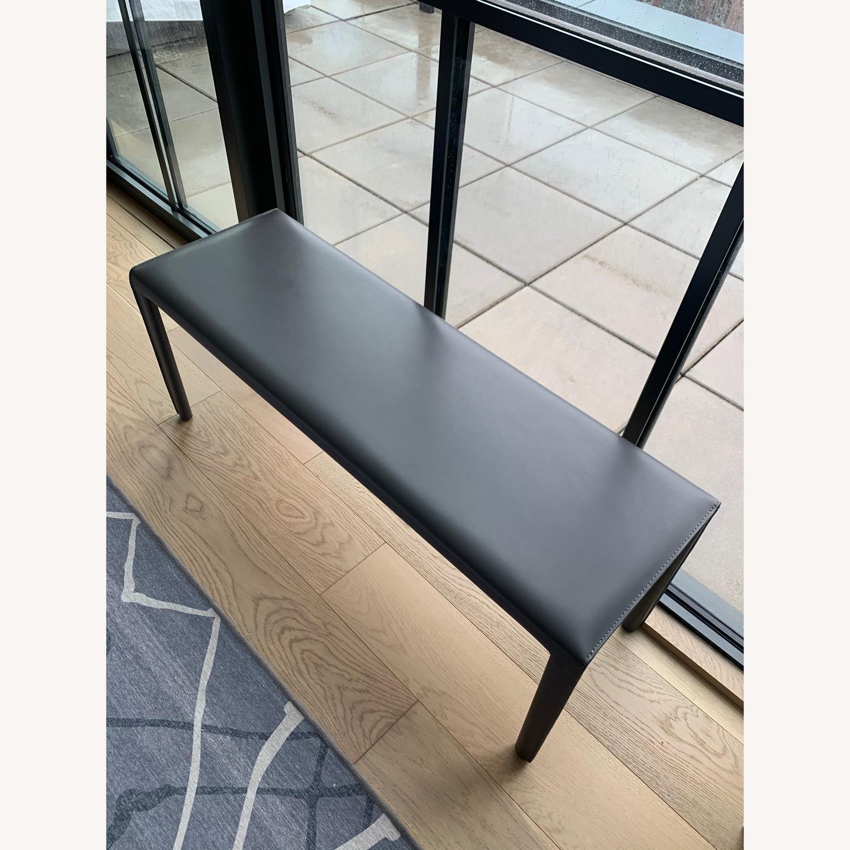 Room & Board Sava Leather Bench - image-3