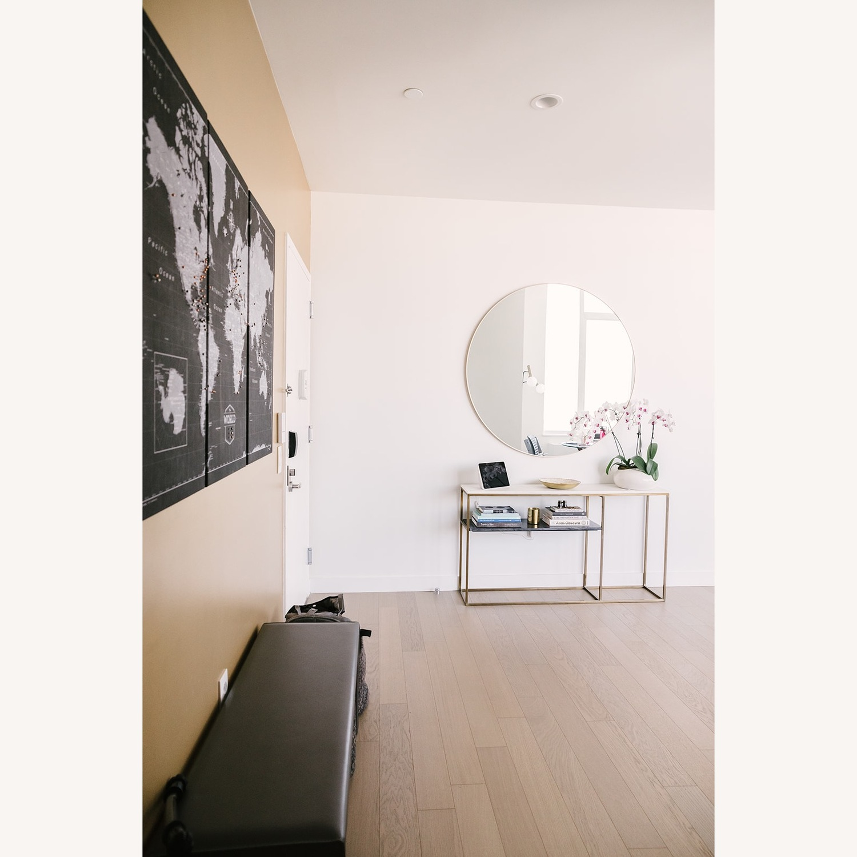 Room & Board Sava Leather Bench - image-4
