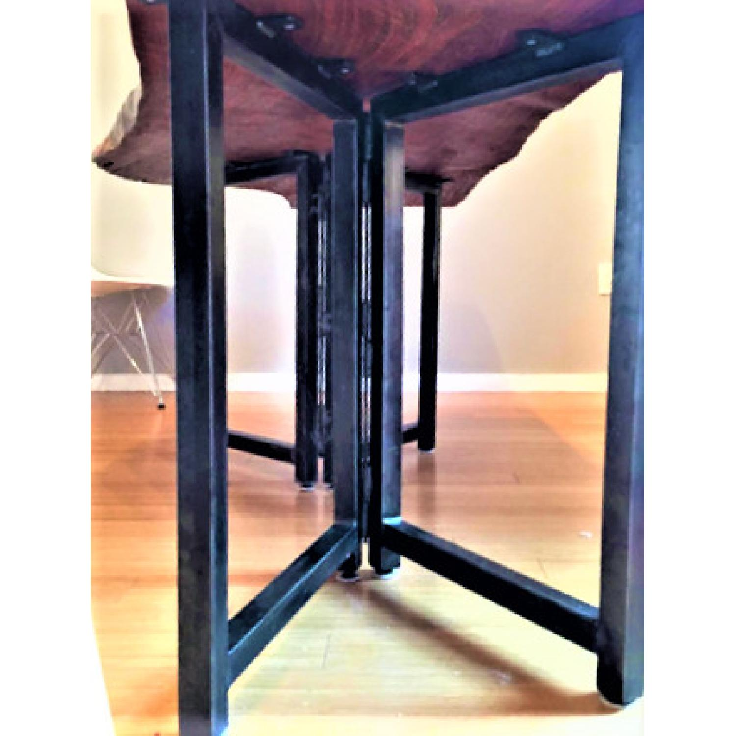From The Source Hand-Crafted Teak Slab Dining Table - image-1