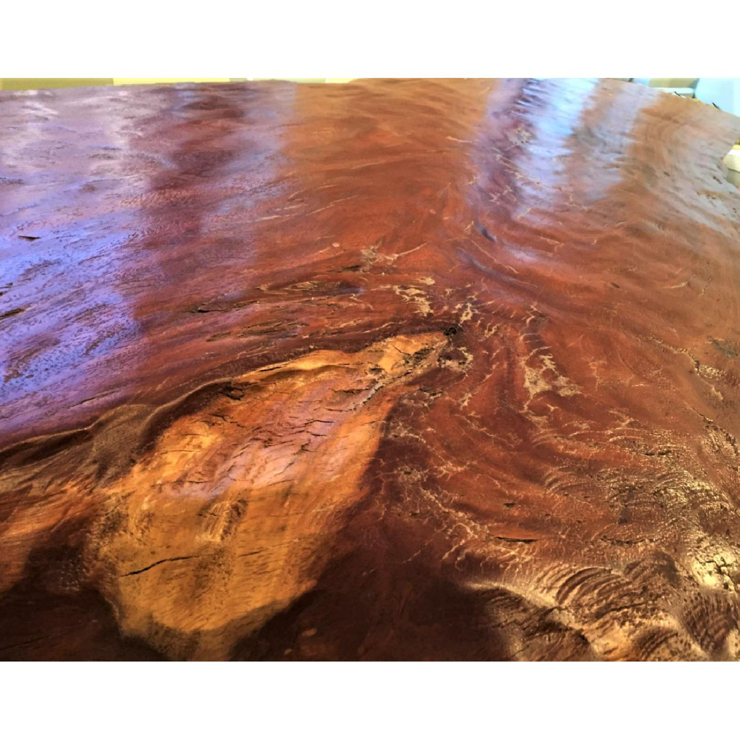 From The Source Hand-Crafted Teak Slab Dining Table - image-7