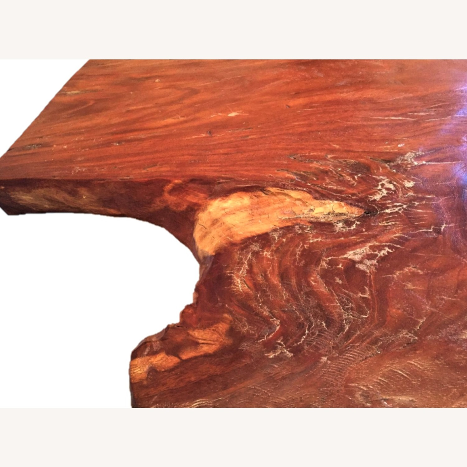 From The Source Hand-Crafted Teak Slab Dining Table - image-12