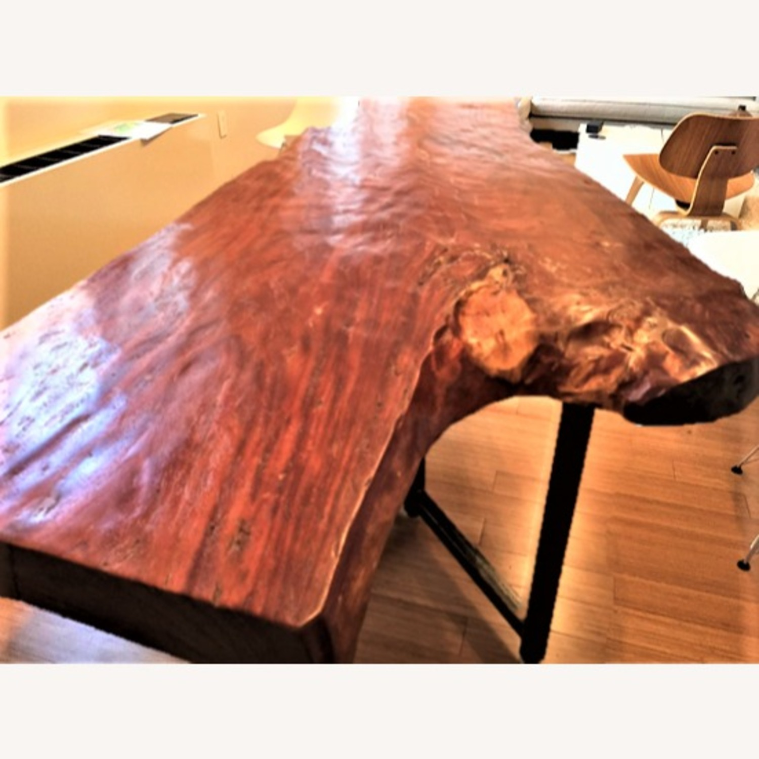 From The Source Hand-Crafted Teak Slab Dining Table - image-9