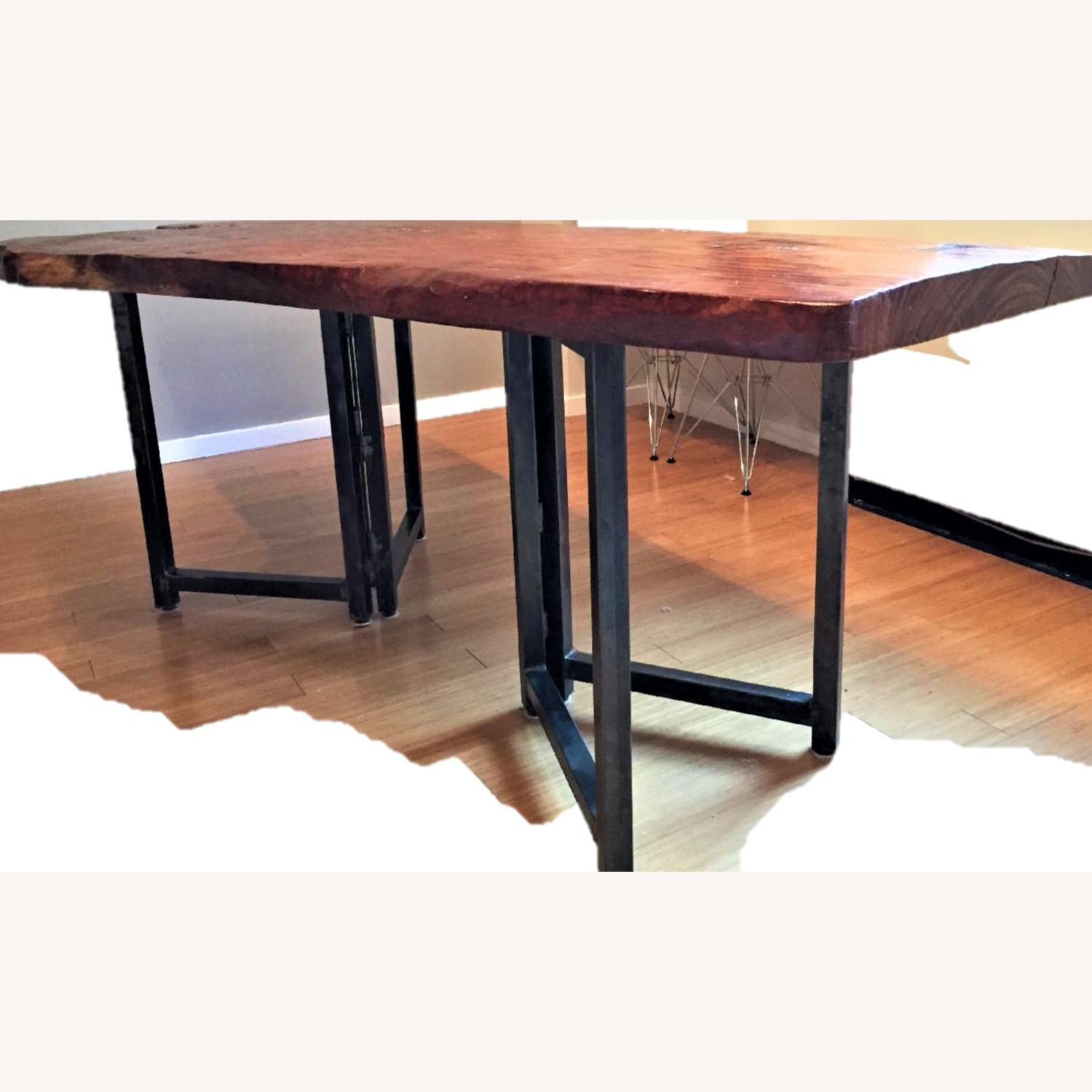 From The Source Hand-Crafted Teak Slab Dining Table - image-13