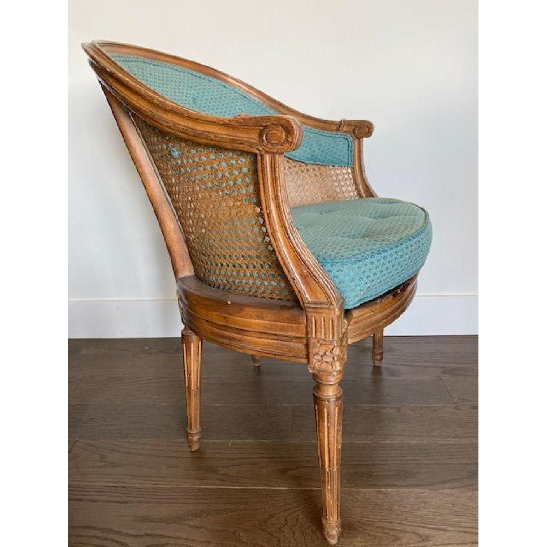 Two Vintage Custom Designer Chairs