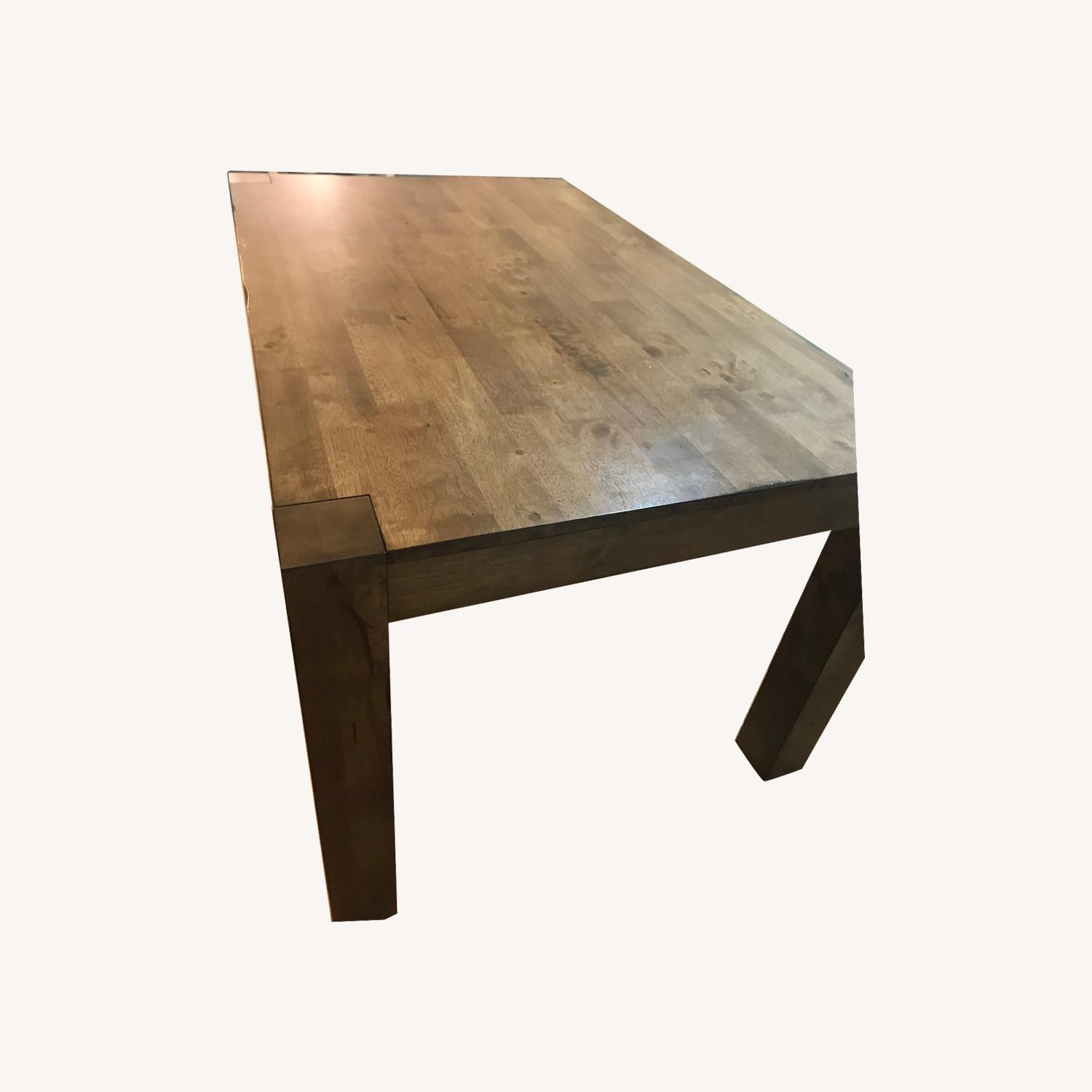 Wood Kitchen Table - image-0