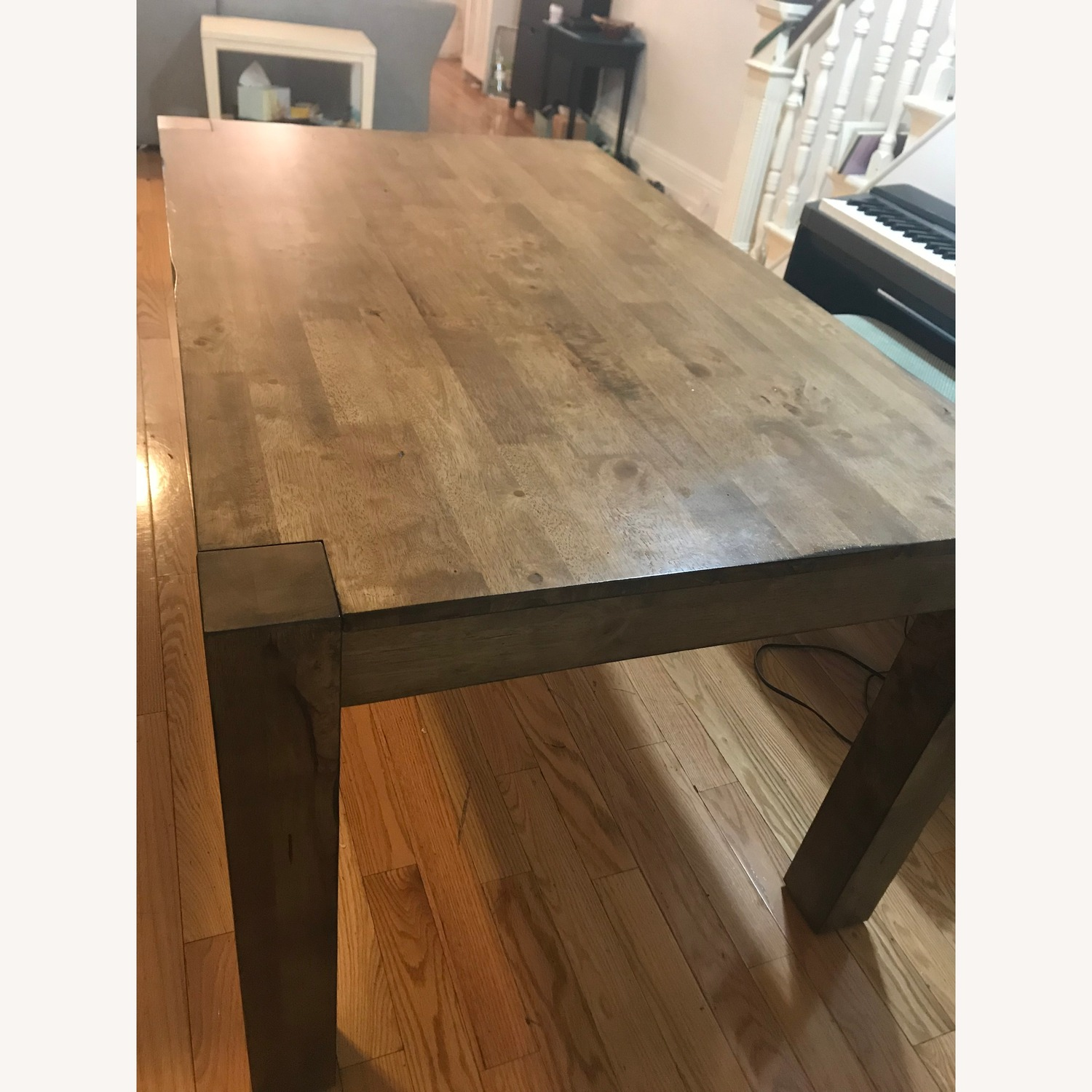 Wood Kitchen Table - image-2