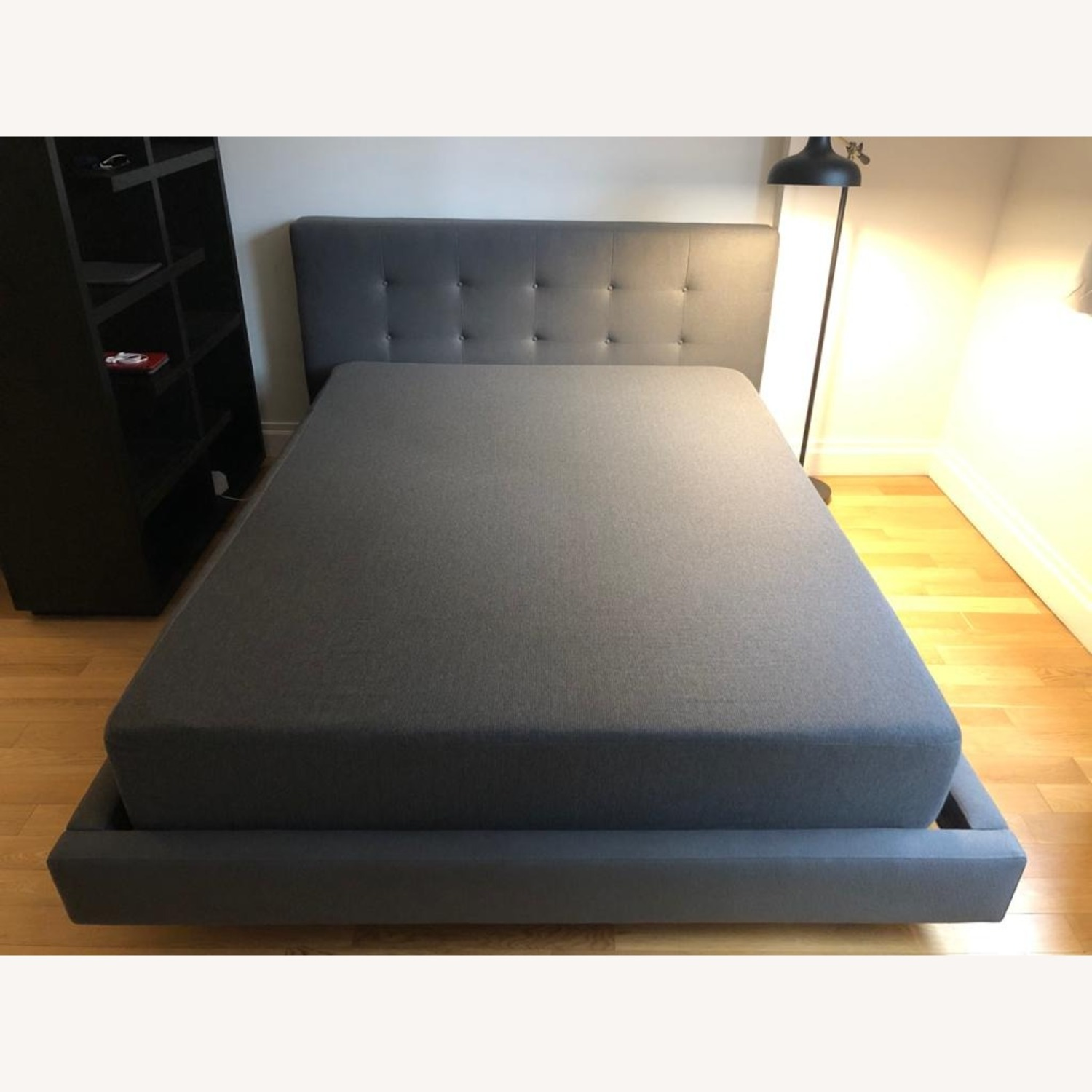 Crate & Barrel Upholstered Bed