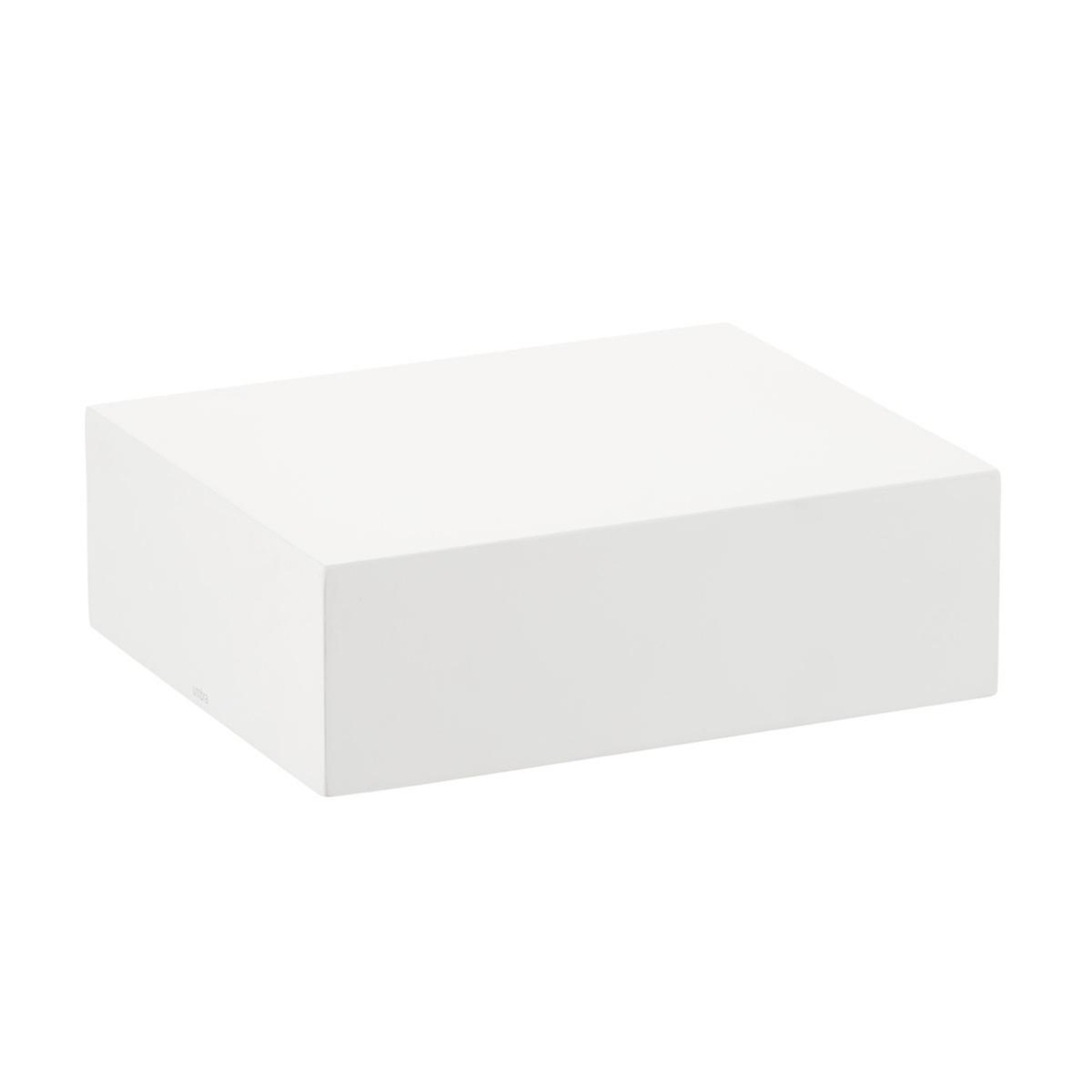 Umbra Sleek White Floating Wall Shelf