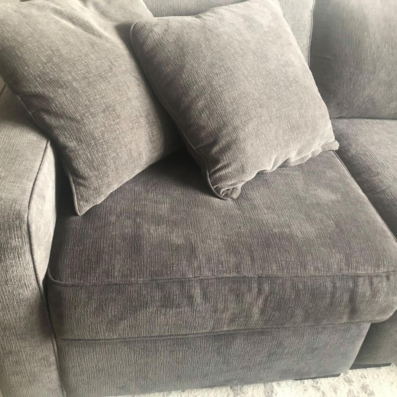Macy's Radley Fabric 4-Piece Sectional Sofa