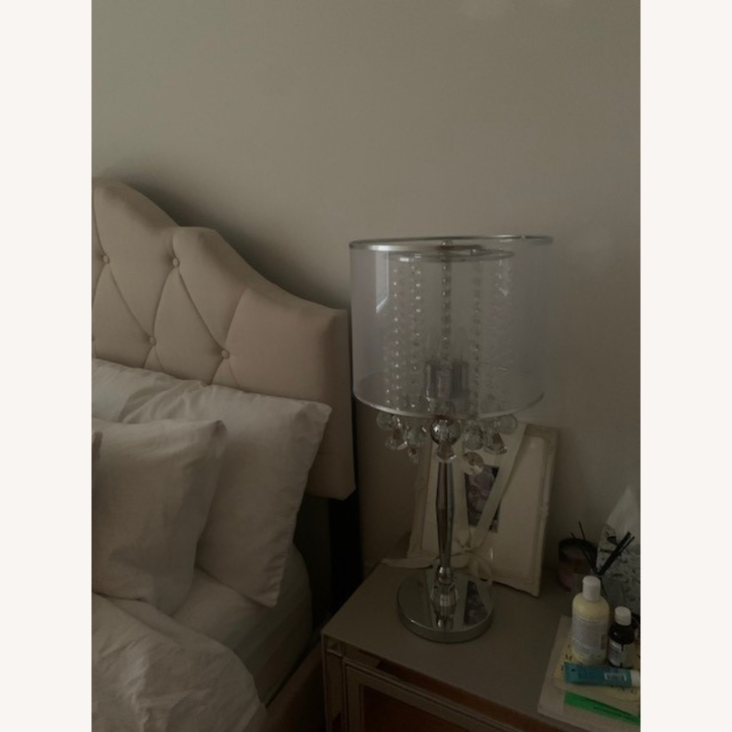 Wayfair Euston Crystal Table Lamp