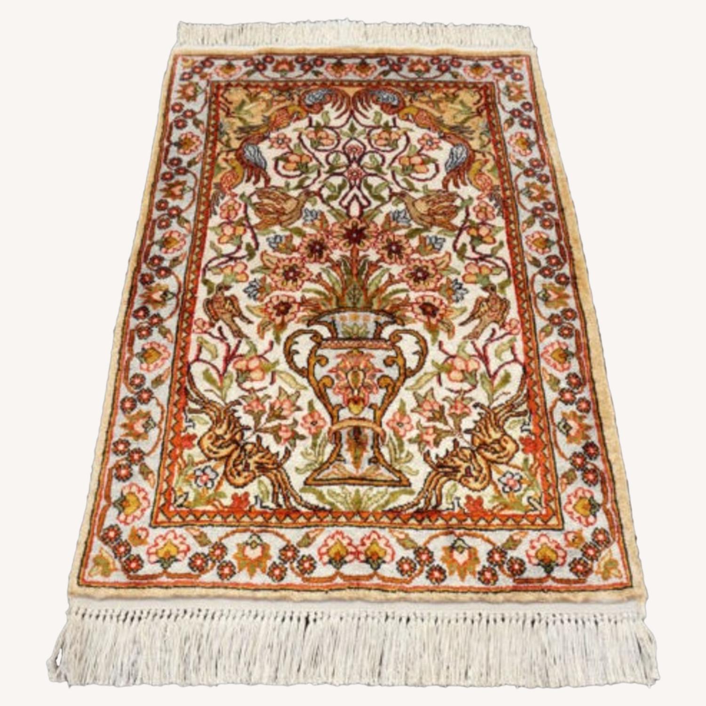Persian Silk Rug - image-0
