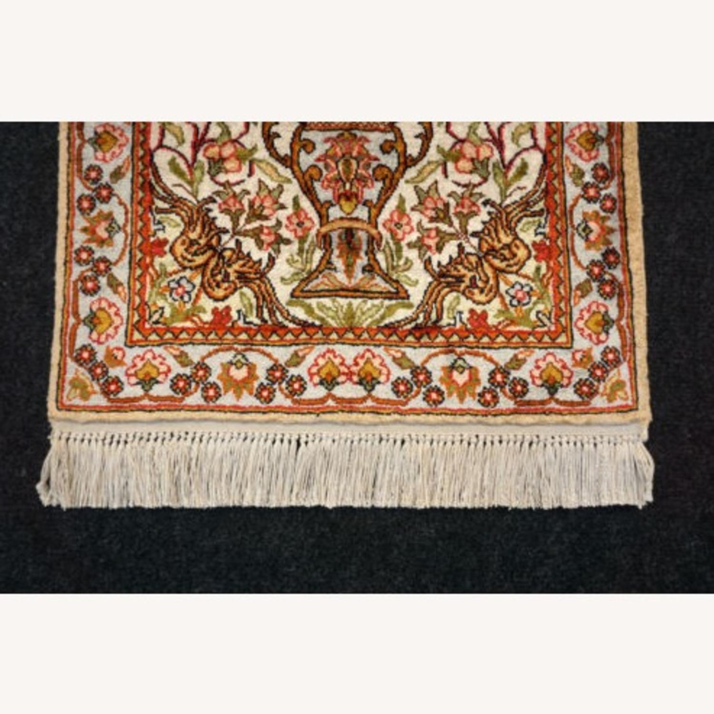 Persian Silk Rug - image-3
