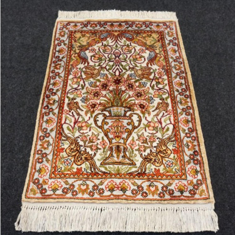Persian Silk Rug - image-1