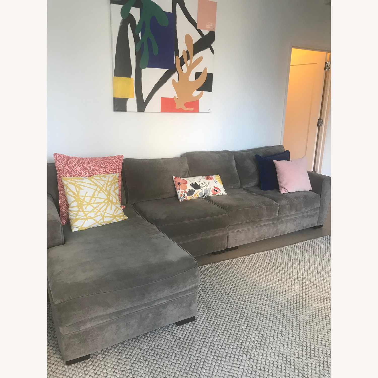 Bob's Discount Gray Sectional