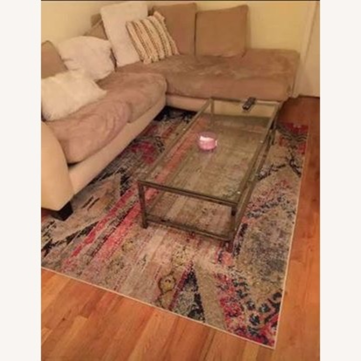 Joss & Main Glass/metal Coffee Table