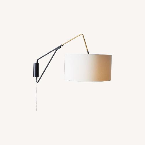 Used West Elm Wall Hanging Overhead Lamp for sale on AptDeco