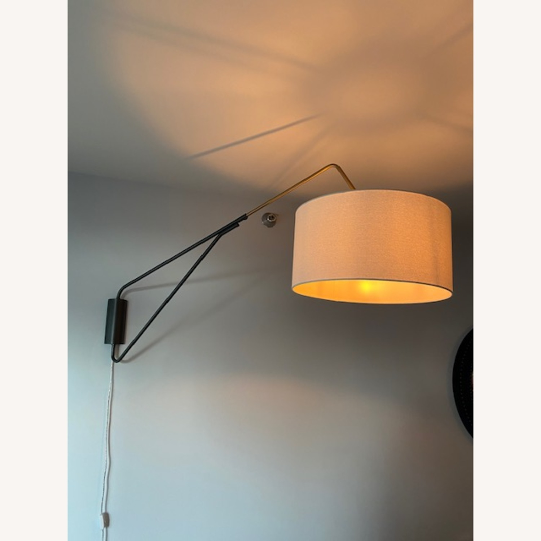 West Elm Wall Hanging Overhead Lamp