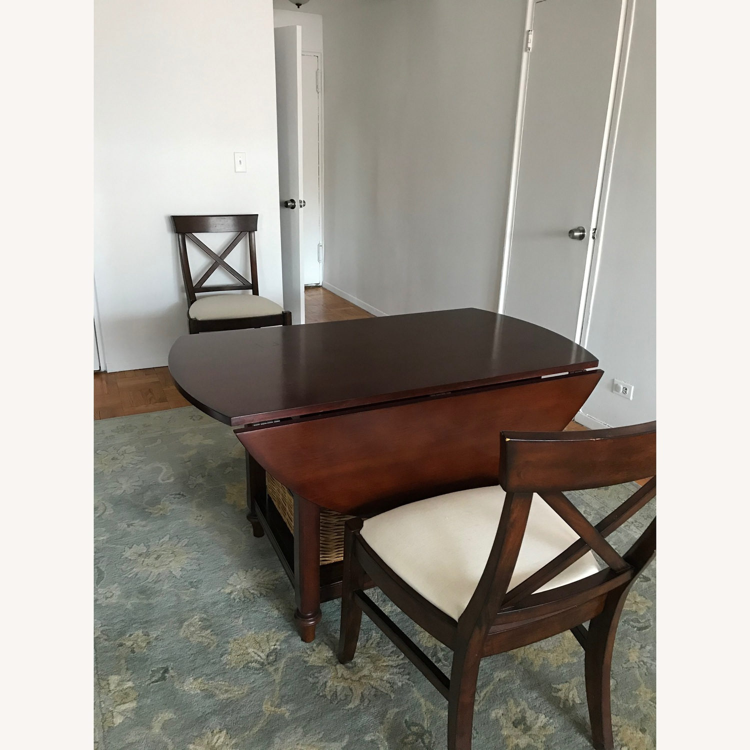 Pottery Barn Drop-Leaf Kitchen Table